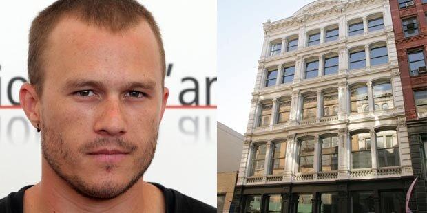 Heath Ledgers letzte Wohnung zu verkaufen