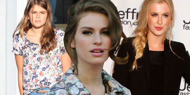 Welche Stars haben so hübsche Töchter?