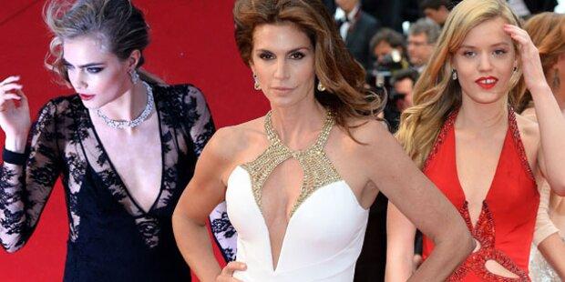 Stars in Cannes: Aufmarsch der sexy Ladys