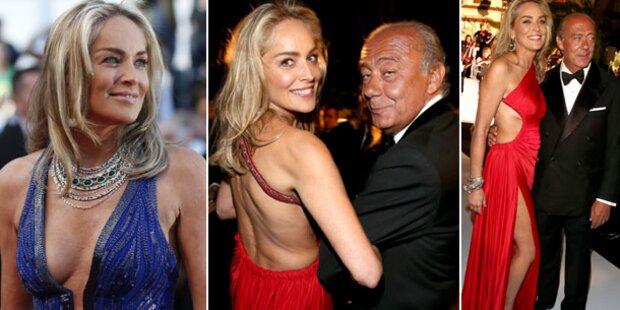 Sharon Stone zeigt Cannes, was sie kann