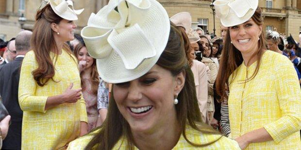 Herzogin Kate: Der Babybauch wächst