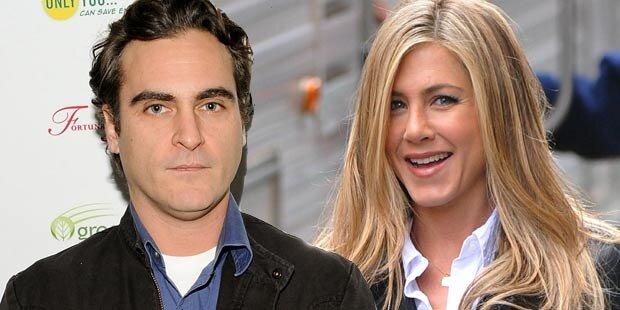Aniston scharf auf Joaquin Phoenix