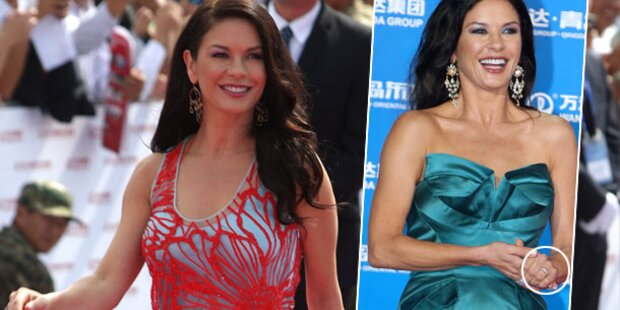 Zeta-Jones strahlt ohne Douglas in China