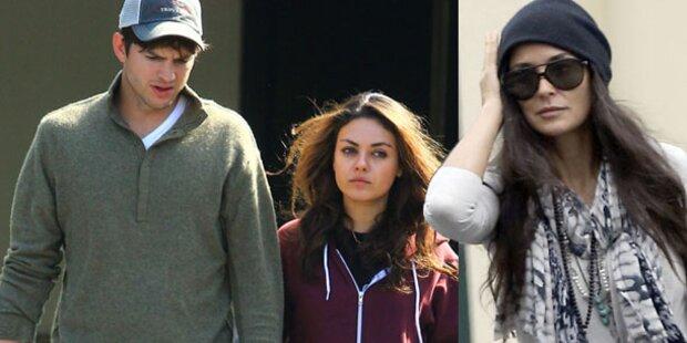 Demi sauer: Mila in ihren alten Kleidern?