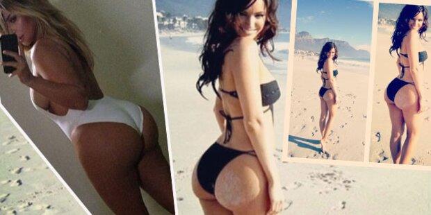 Kelly Brook: Po-Neid auf Kim Kardashian?