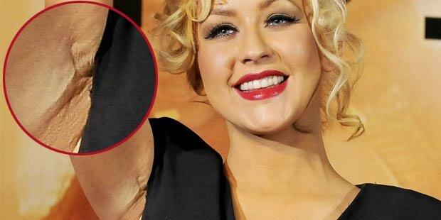 Aguilera: Ist das der Beweis für Brust-OP?