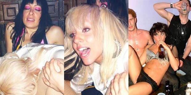 Heiße Party: So wild feiert Lady Gaga