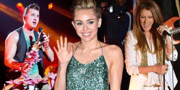 'Wetten, dass..?' mit Celine Dion, Miley Cyrus & Gabalier
