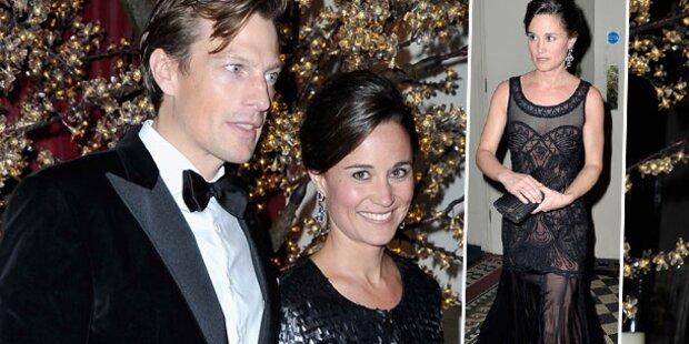 Pippa Middleton strahlt mit Freund auf Gala