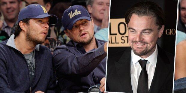 DiCaprio verbirgt Sorge um Stiefbruder