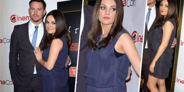 Mila Kunis: Ja, sie sieht schwanger aus!