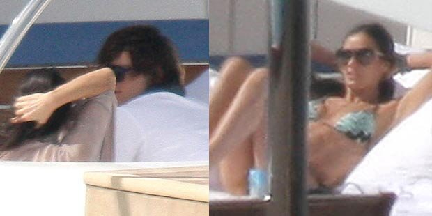 Demi & Ashton: Liebes-Urlaub auf Yacht