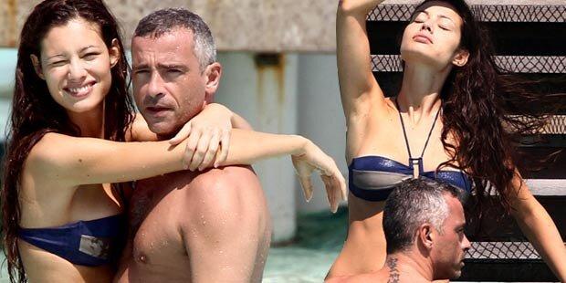 Eros Ramazzotti turtelt mit seiner Marica
