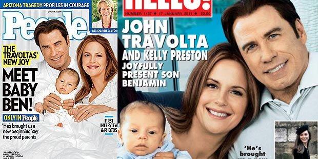John & Kelly zeigen Baby Ben