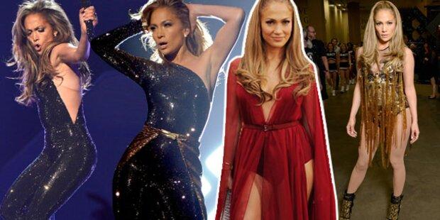 Sexy Jennifer Lopez stiehlt allen die Show