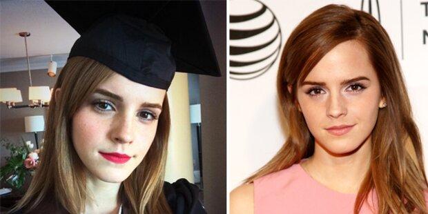 Emma Watson hat ihr Diplom in der Tasche