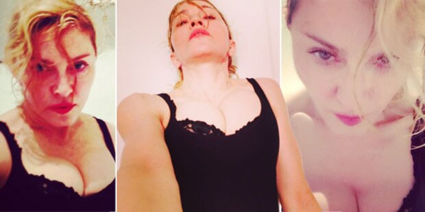 Madonna veröffentlicht Grusel-Selfies