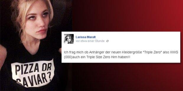Larissa Marolt wehrt sich gegen Magerwahn