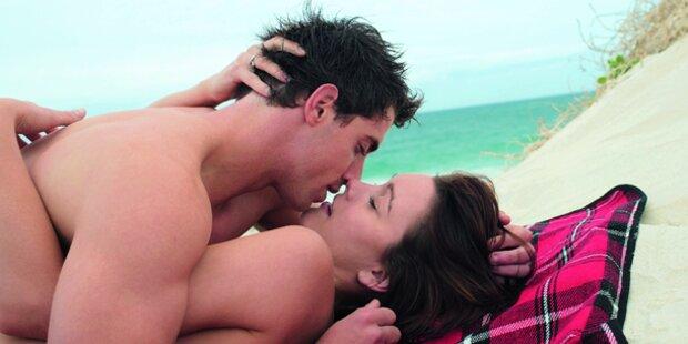 Sex strand paar