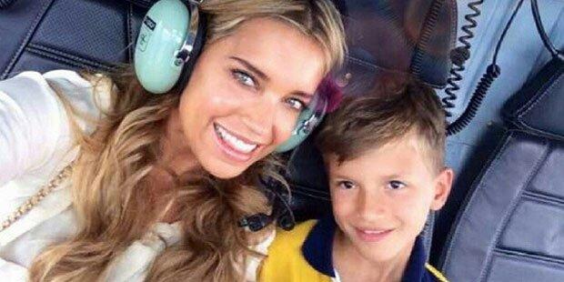 Sylvie Meis: Action mit Sohn Damian