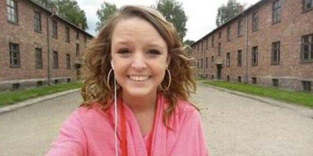 Ort des Massenmords - Selfie in Auschwitz