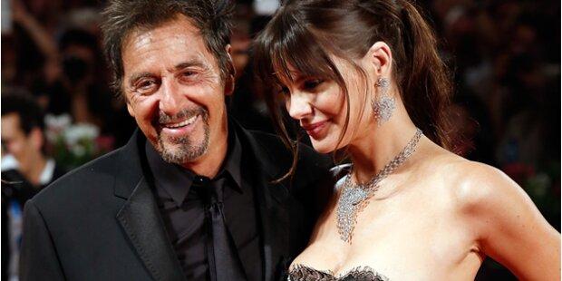 Al Pacino und seine schöne Lucila