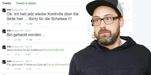 Sido: Facebook & Twitter gehackt!