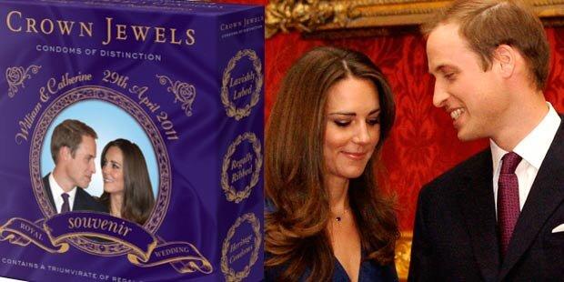 William & Kate: Kondome erregen Briten