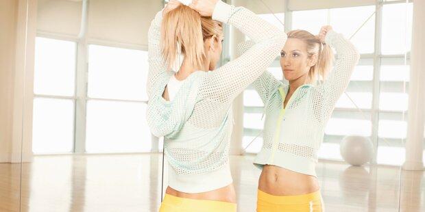10 Dinge, die Frauen heimlich im Fitness-Studio tun