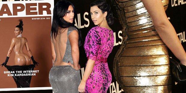 Wann war Kim Kardashians Po am heißesten?