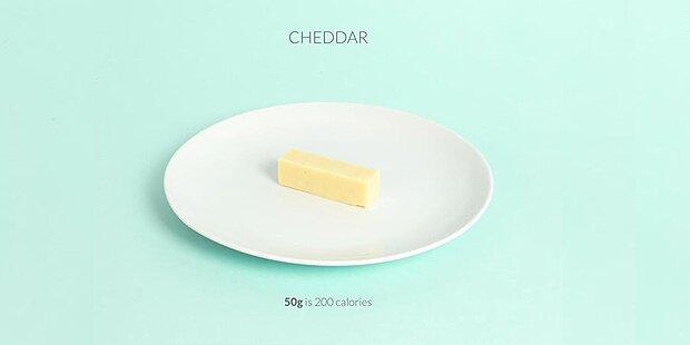 Wie 200 Kalorien wirklich aussehen