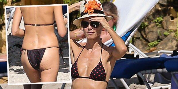 Heidi Klum schockt mit Mager-Figur