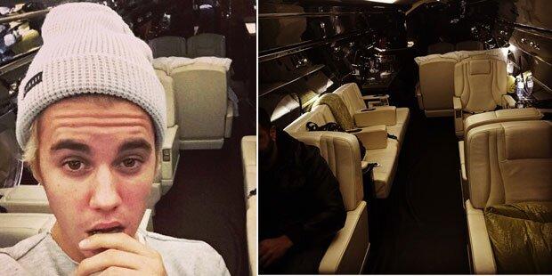 Justin Bieber schenkt sich einen Privatjet