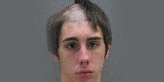 Prügel-Teenager mit halber Frisur verhaftet