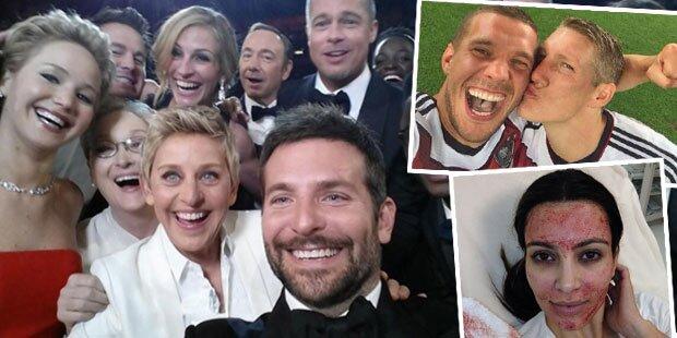 Was war das Star-Selfie 2014?