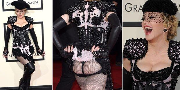 Grammys: Madonna zieht Po-blank