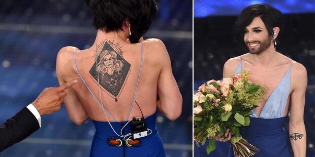 Conchita Wurst: Tattoo für ihre Mama