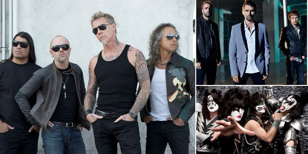 Rock in Vienna: Tages-Line-up fixiert