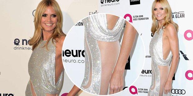 Heidi Klum: Oscar-Party unten ohne?