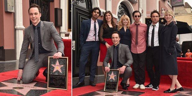 Hollywood-Stern für