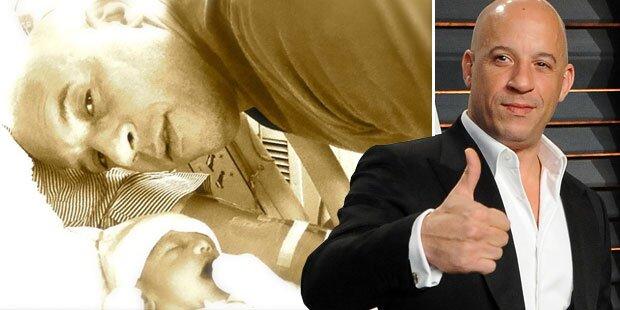 Vin Diesel wurde heimlich Papa