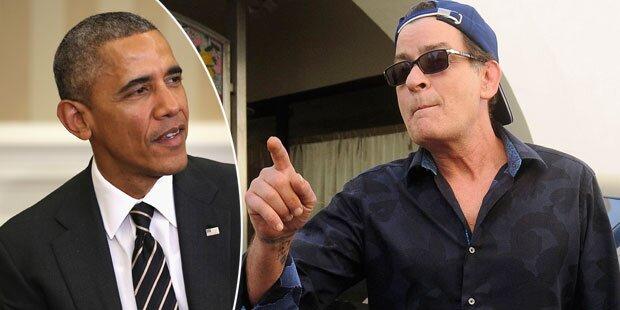 Sheen: Rassistischer Tweet gegen Obama