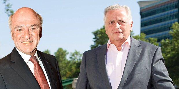 Hofburg: Pröll gegen Hundstorfer