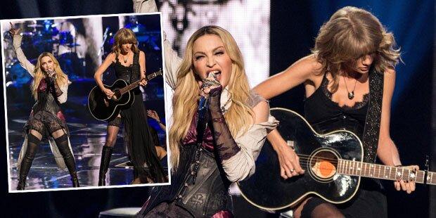 Swift: Straps-Auftritt mit Madonna