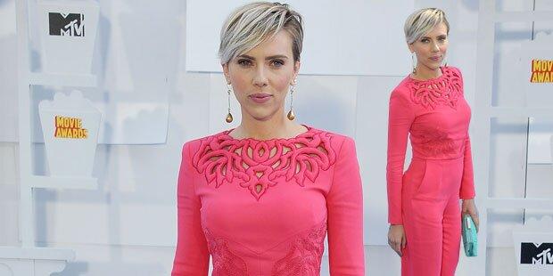 Scarlett, wo sind deine Babykilos hin?