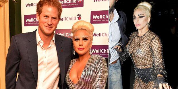 Lady Gaga: Nackt nach Prinzen-Treffen