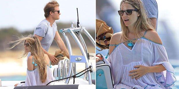 Nico Rosberg: Urlaub mit seiner Vivian