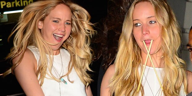 Jennifer Lawrence ist die Blödel-Queen