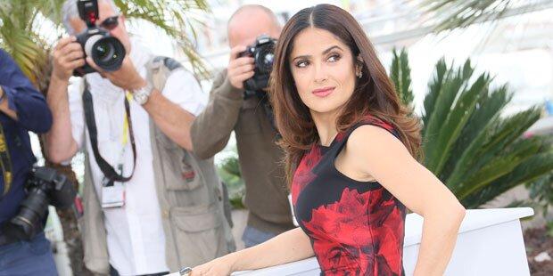Salma Hayeks Trick für eine schlanke Taille