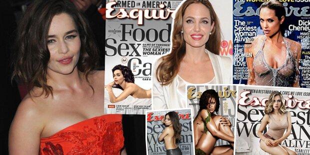 Wer ist die Sexiest Woman aller Zeiten?